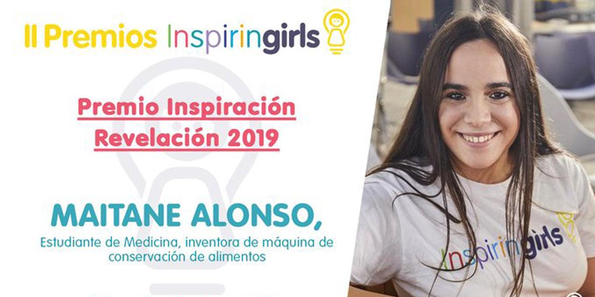 Maitane Alonso imagen de publicación de Inspiring Girls